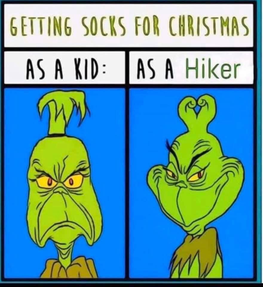 Dárky pro cestovatele ponožky meme