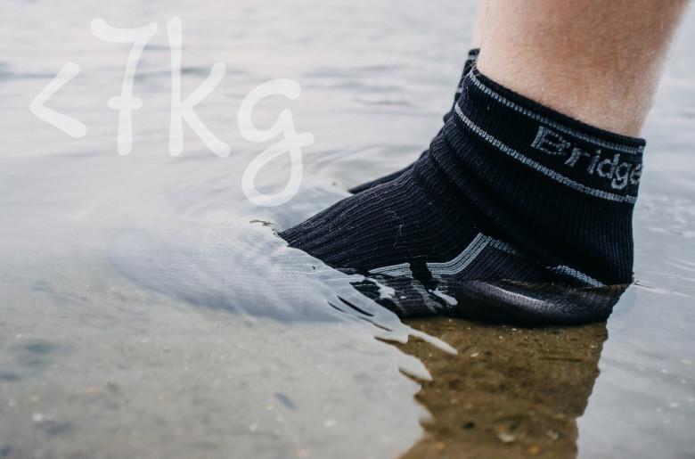cestovatelské dárky ponožky bridgedale pod7kilo