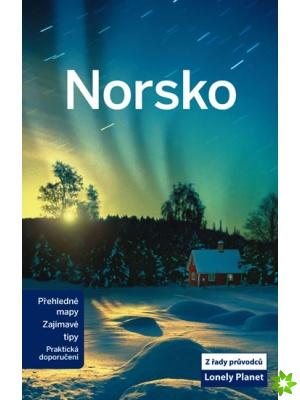 dárky pro cestovatele Lonely planet průvodce Norsko