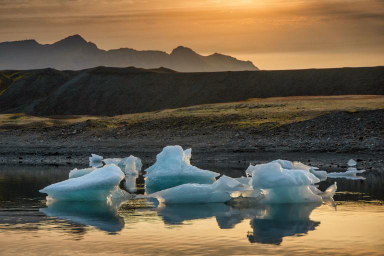 Island ledovcové laguny