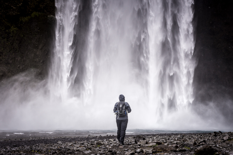 Island vodopády