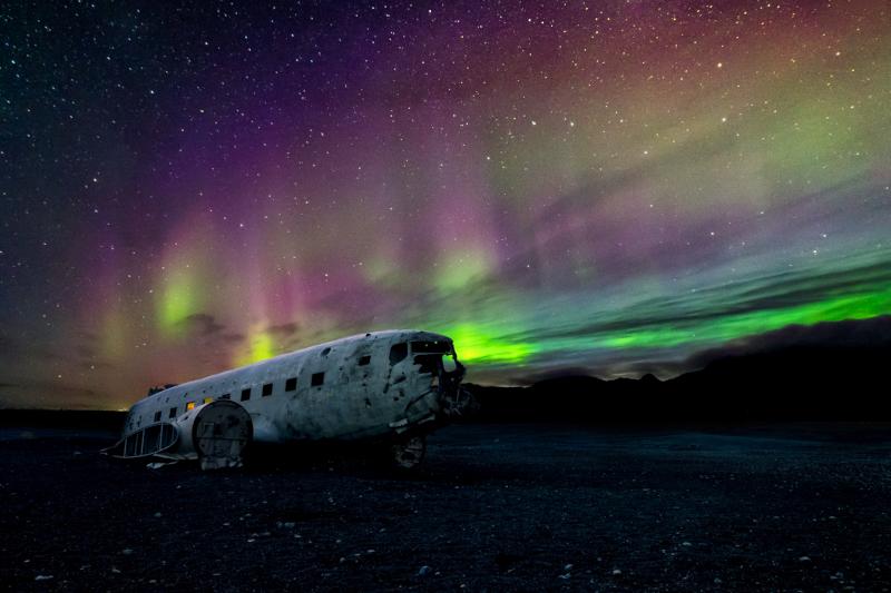 Polarni zare na Islandu