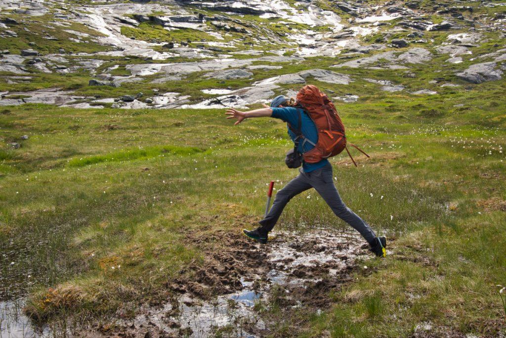 Voděodolné ponožky Bridgedale jsou ideální do norských podmínek