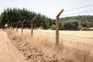 Fences surrounding Villa Baviera, former Nazi village in Chile