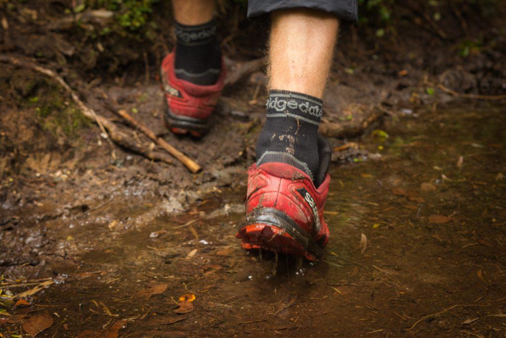 Voděodolné ponožky Bridgedale recenze_trekování v Patagonii