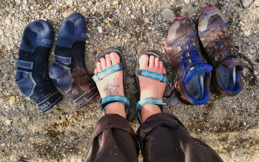 Voděodolné ponožky: To chce klid a nohy v teple. A suchu!
