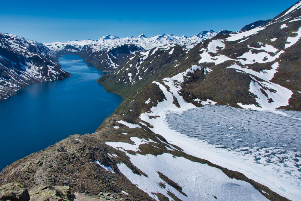 Bessegen is one of the most popular hikes in Norway
