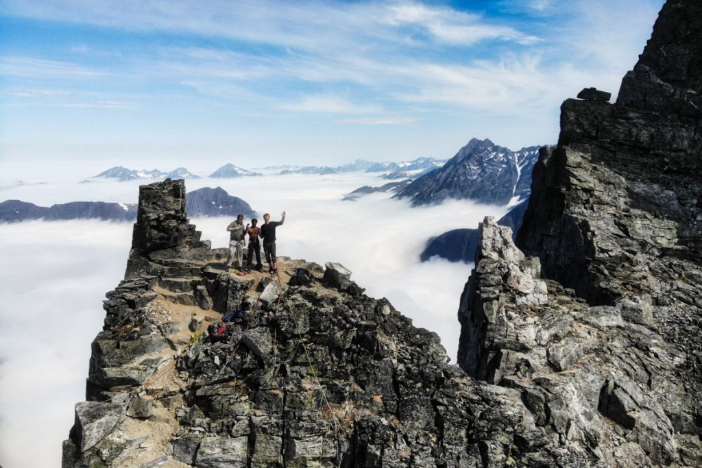 Best hikes in southern Norway - Troll wall