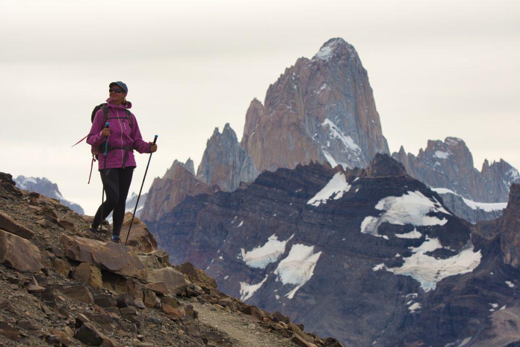 Hiking around El Chaltén, Argentina
