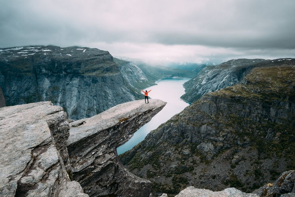 Hiking to Trolltunga Norway