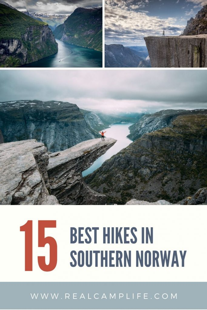 15 Best hikes in southern Norway pinterest