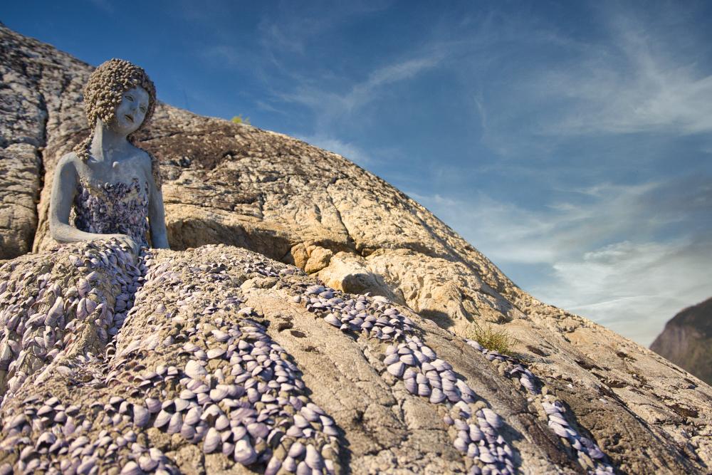 Jaro v Norsku: Malá mořská víla v Utne