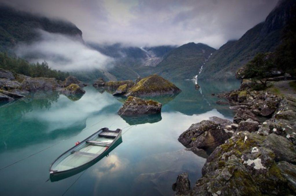 Norsko: Jezero Bondhusvatnet