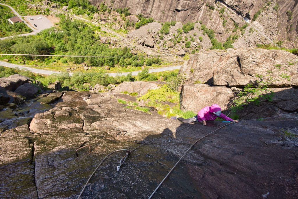 The North Sea Route: Via Ferrata Jøssingfjord