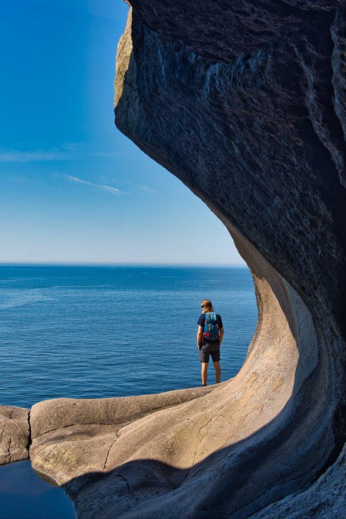 Jeskyně Brufjell v jižním Norsku