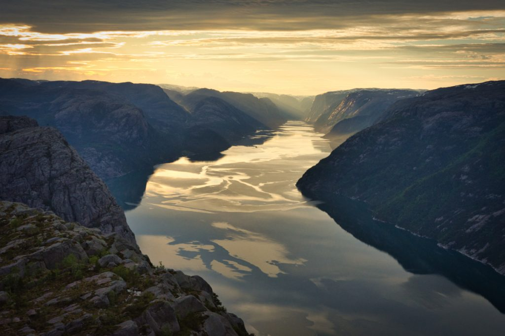 Norsko Lysefjord