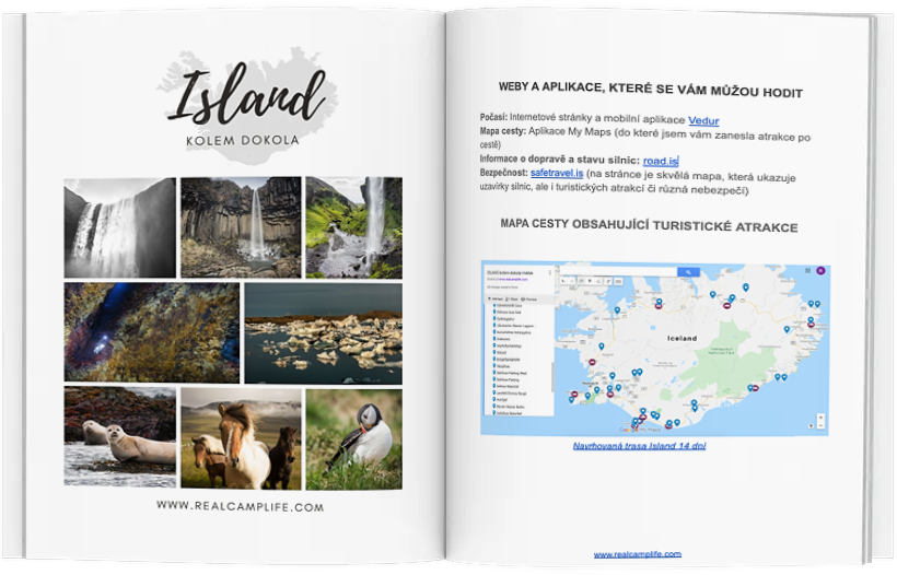 Itinerář na míru Island ukázka